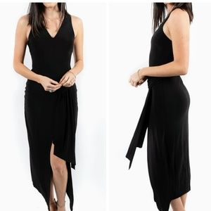 The jetset Diaries sleeveless Black Maxi Dress